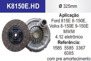 KIT EMBR V.W 08150/9150 FD 13 ¨PRE AMORTECIMENTO C/ROL 3367